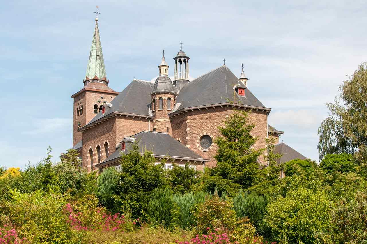 H-Clemenskerk, Achteraanzicht